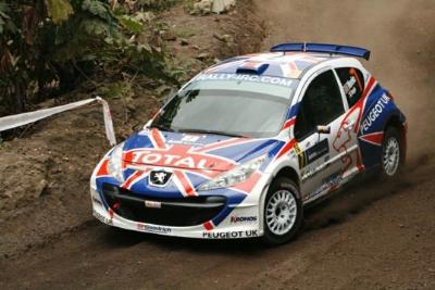 Peugeot UK Super 2000, Ралли Шотландии
