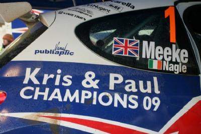автомобиль Криса Мике, Ралли Шотландии 2009 года
