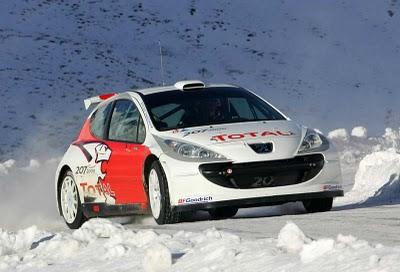 Магальяэш протестировал машину от Peugeot Sport
