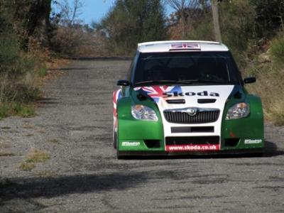 гогщик команды Skoda Гай Уилкс, Ралли Монте Карло 2010 года