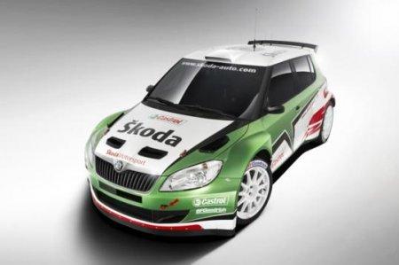 Skoda Fabia S2000 EVO II на выставке в Женеве