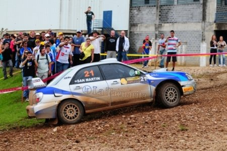 Сан Мартин получил награду Subaru Individual Award
