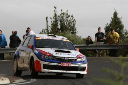 Барриос получает награду Subaru Individual Award