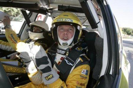 Перед своим дебютом в IRC Андерссон откатал тесты в Швеции