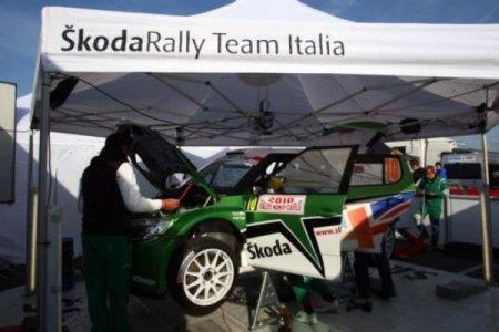 Почти семейное дело Skoda на старте итальянской гонки