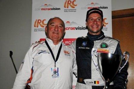 За победу на Мадейре Лойкс удостоился приза Colin McRae IRC Flat Out Trophy