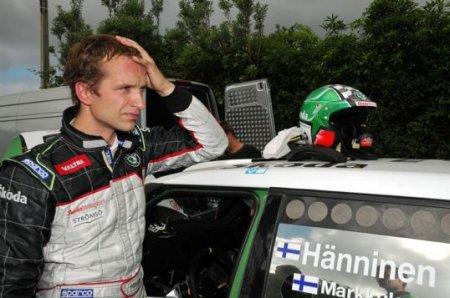 Ралли Барум-2010: Хяннинен быстрейший на шейкдауне