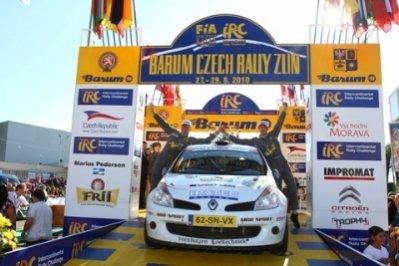 Эббринг пожинает лавры победителя в зачете IRC 2WD Cup
