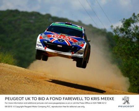 Peugeot UK тепло попрощается с Крисом Миком