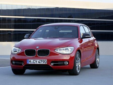 Презентация автомобиля BMW 1
