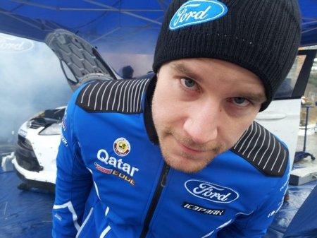 Остберг победил на ралли Finskog