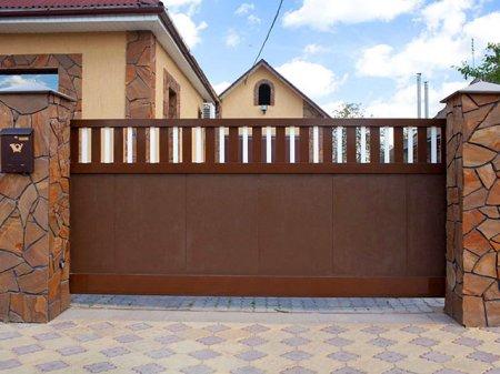 Откатные ворота для вашего дома