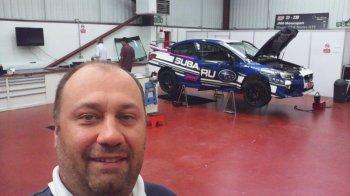 Войтех Стайф осмотрел новый Subaru WRX STI NR4